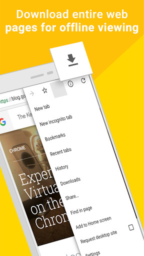 Chrome for Android - Free Download