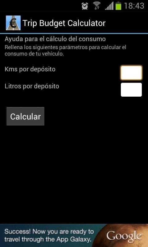 trip budget calculator for android free download