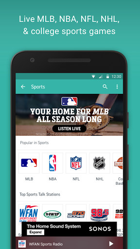 TuneIn Radio for Android - Free Download