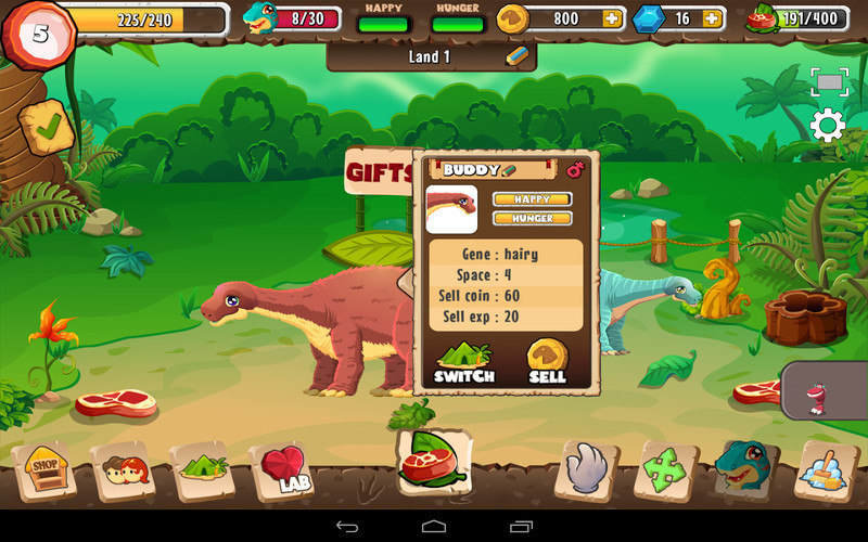 Land Of Dinosaurs For Android Free Download