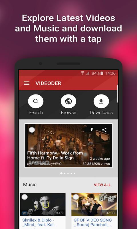 videoder android gratuit