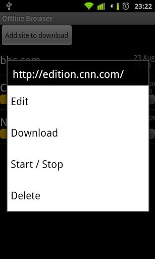 offline browser android