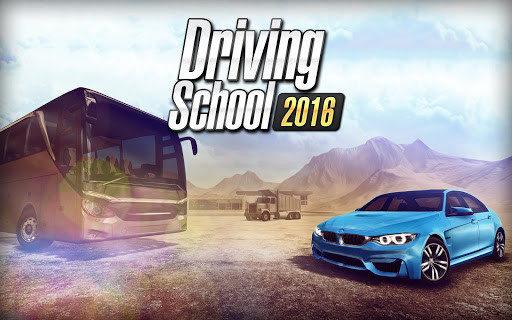 Car Games 2016 >> Driving School 2016 For Android Free Download