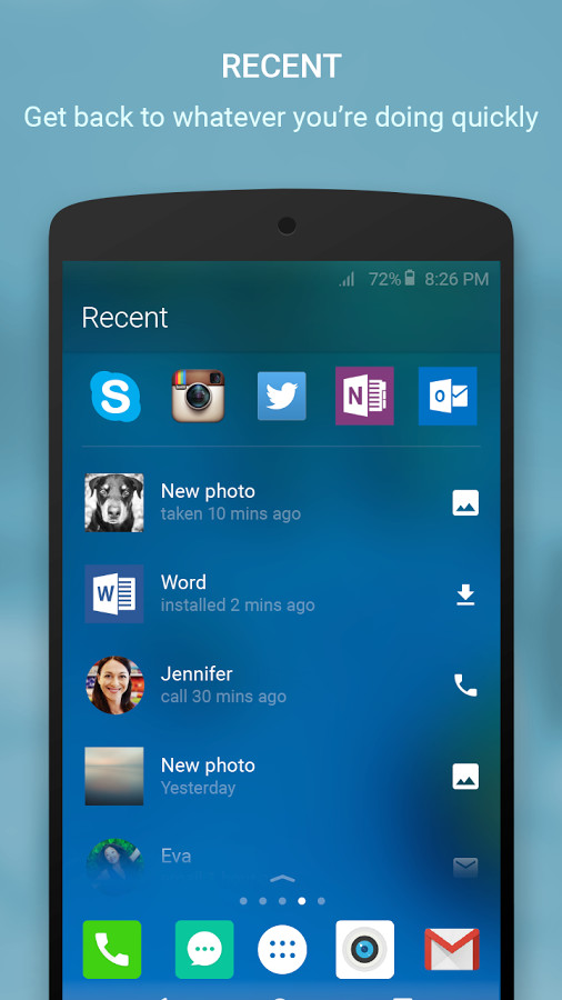 Arrow Launcher for Android - Free Download