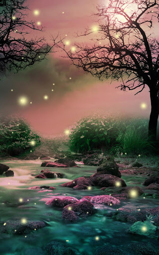 Image 6 Of Fireflies Live Wallpaper For Android