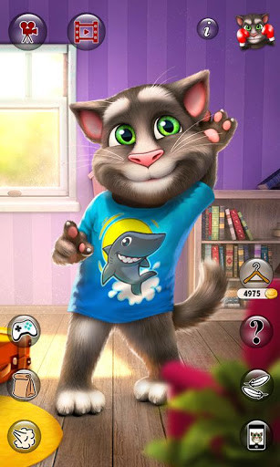 android game talking tom cat
