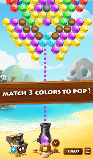 Bubbles Treasure For Android Free Download