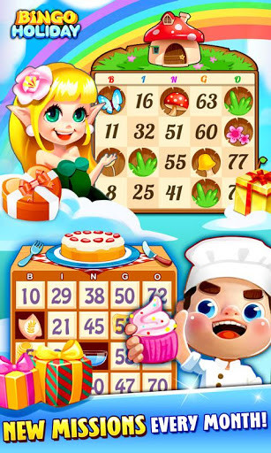Bingo Holiday: FREE Bingo Games for Android - Free Download