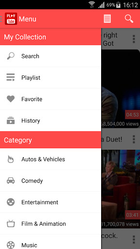 Play Tube for Android - Free Download