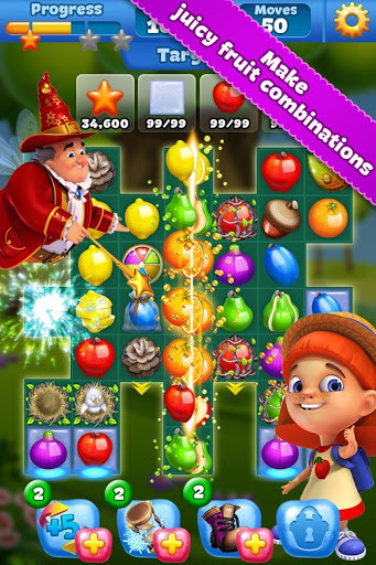 Fruit Land – match3 adventure for Android - Free Download