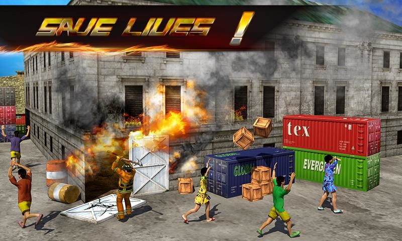 Firefighter 3D: The City Hero for Android - Free Download