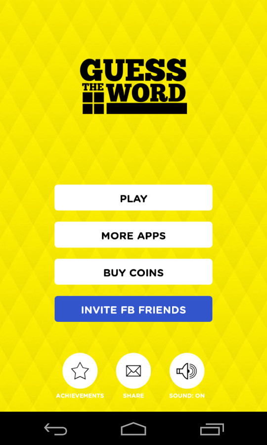 better big sale new concept Guess The Word! for Android - Free Download