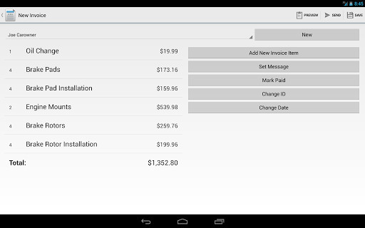 Invoice Maker Pro For Android Free Download - Invoice maker android
