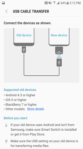 Samsung Smart Switch Mobile for Android - Free Download