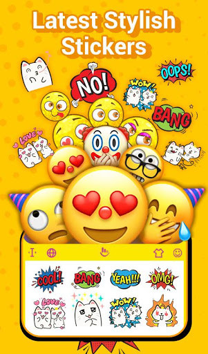 TouchPal Emoji Keyboard for Android - Free Download