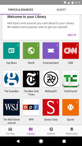 Google Play Newsstand for Android - Free Download