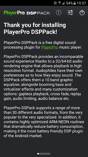 PlayerPro DSP pack for Android - Free Download