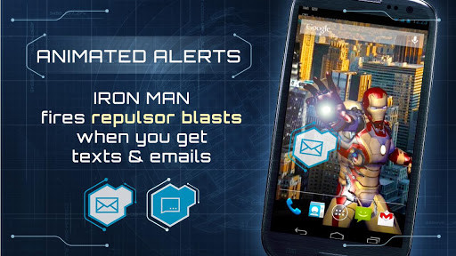 Iron Man 3 Live Wallpaper For Android Free Download