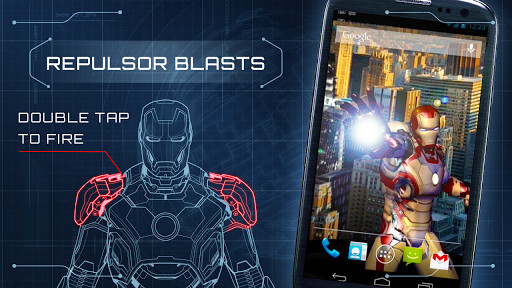 Image 5 Of Iron Man 3 Live Wallpaper For Android
