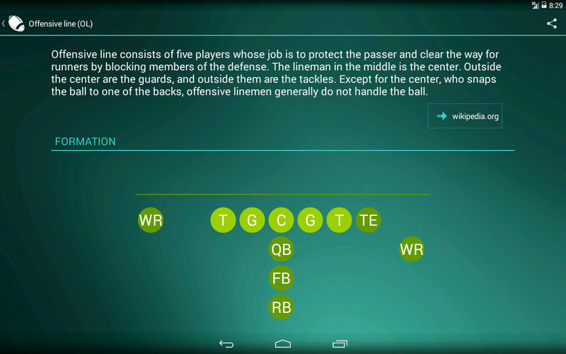 american football app