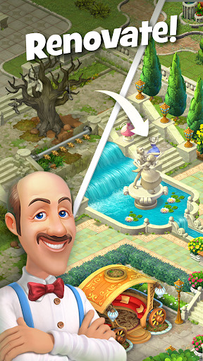 Gardenscapes - New Acres for Android - Free Download