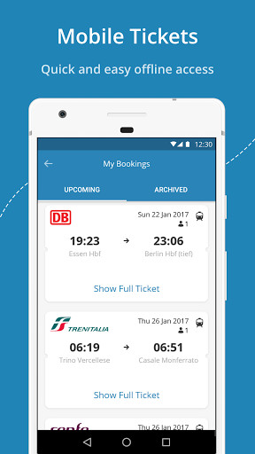GoEuro: trains, buses and flights for Android - Free Download