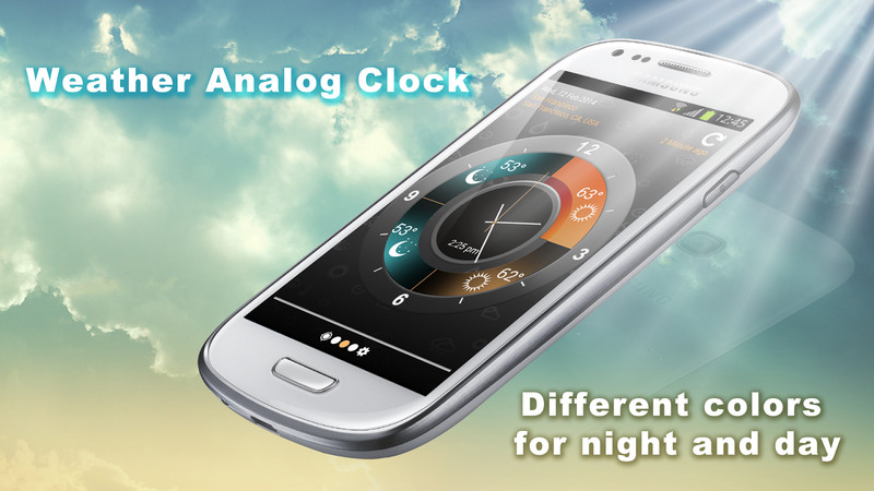 weather clock for android free download. Black Bedroom Furniture Sets. Home Design Ideas