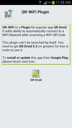QR-WiFi Plugin for Android - Free Download