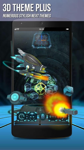 Next Launcher 3D Shell Lite for Android - Free Download