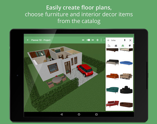 Planner 5D Home Design for Android Free Download