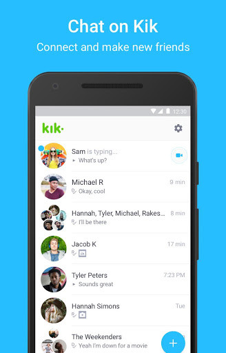 Is kik messenger safe
