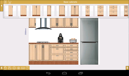 EZ Kitchen + Kitchen design for Android - Free Download