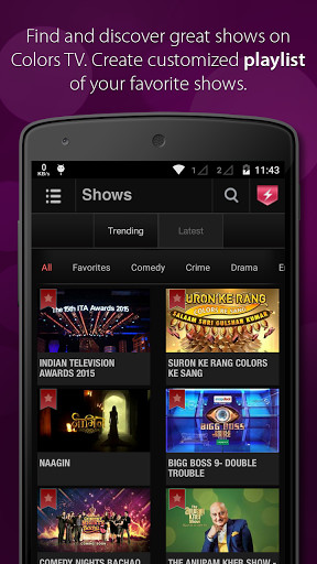 ColorsTV for Android - Free Download