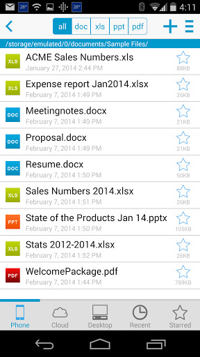 Documents to Go for Android - Free Download