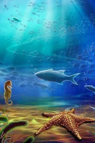 Image 1 Of Aquarium 3D Live Wallpaper HD For Android