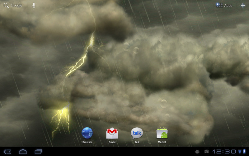 Thunderstorm Live Wallpaper For Android Free Download