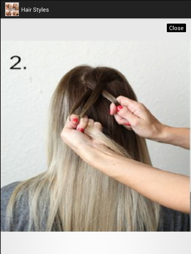 Hair Styles Step By Step For Android Free Download