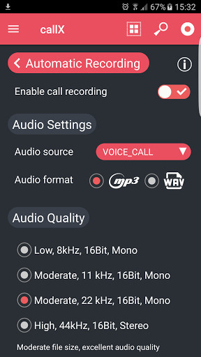Call recorder for Android - Free Download