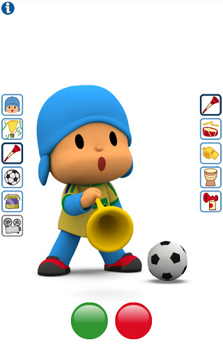 Talking Pocoyo Football Free For Android Free Download