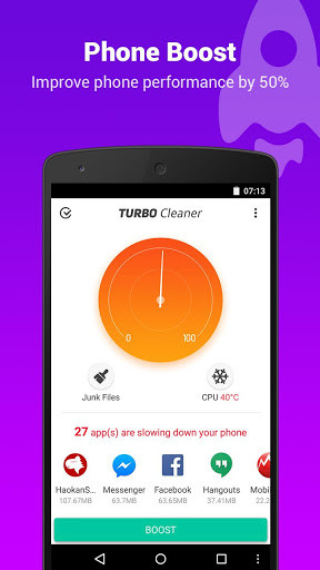 Turbo Cleaner – Speed booster for Android - Free Download