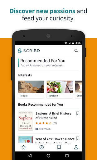 Scribd for Android - Free Download