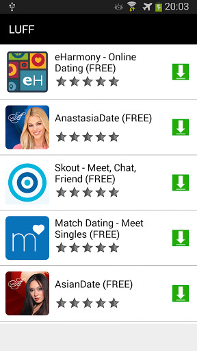 Topp gratis dating Apps på Android