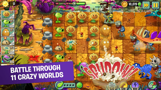 Plants vs  Zombies 2 for Android - Free Download