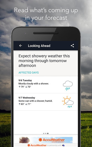 AccuWeather For Android Free Download - Free accuweather