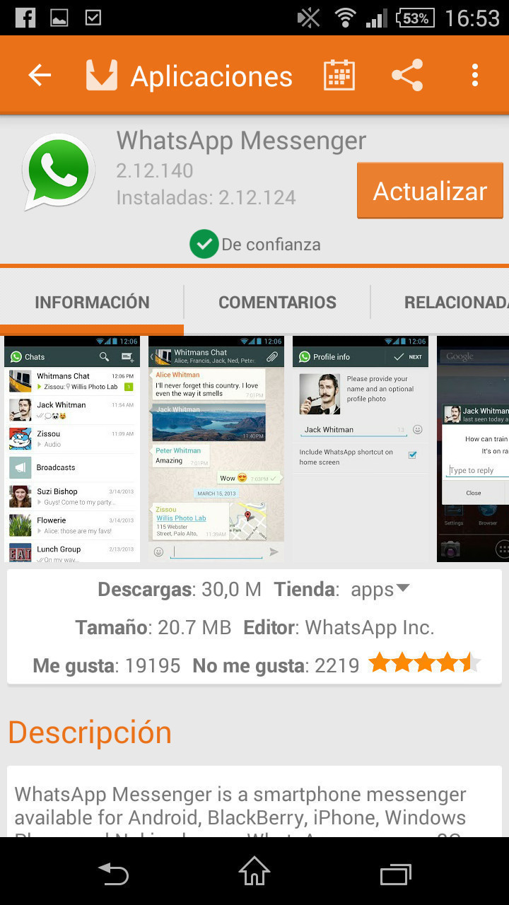 aptoide android 4.4.2