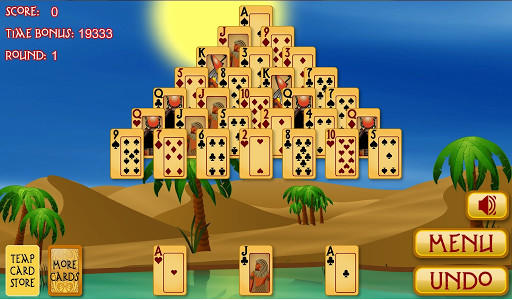 Pyramid Solitaire Egypt for Android - Free Download