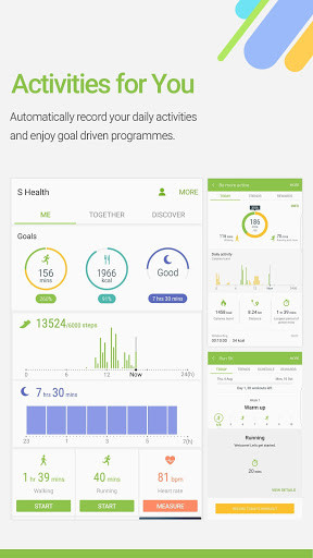 S Health for Android - Free Download