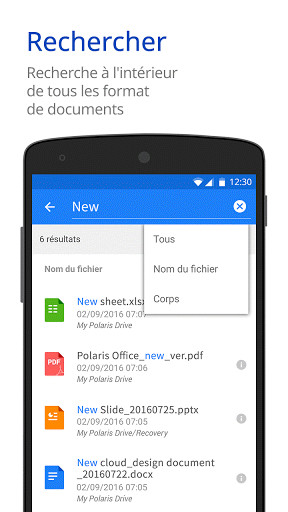 Polaris office for lg pour android t l charger gratuitement - Telecharger polaris office gratuitement ...